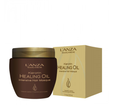 Lanza Keratin Healing Oil Intensive Hair Masque - Máscara de Tratamento 210ml