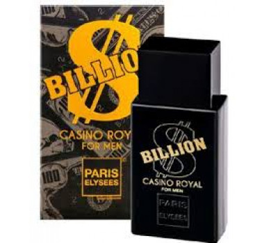 Perfume Billion Casino Royal, Silver Scent,
